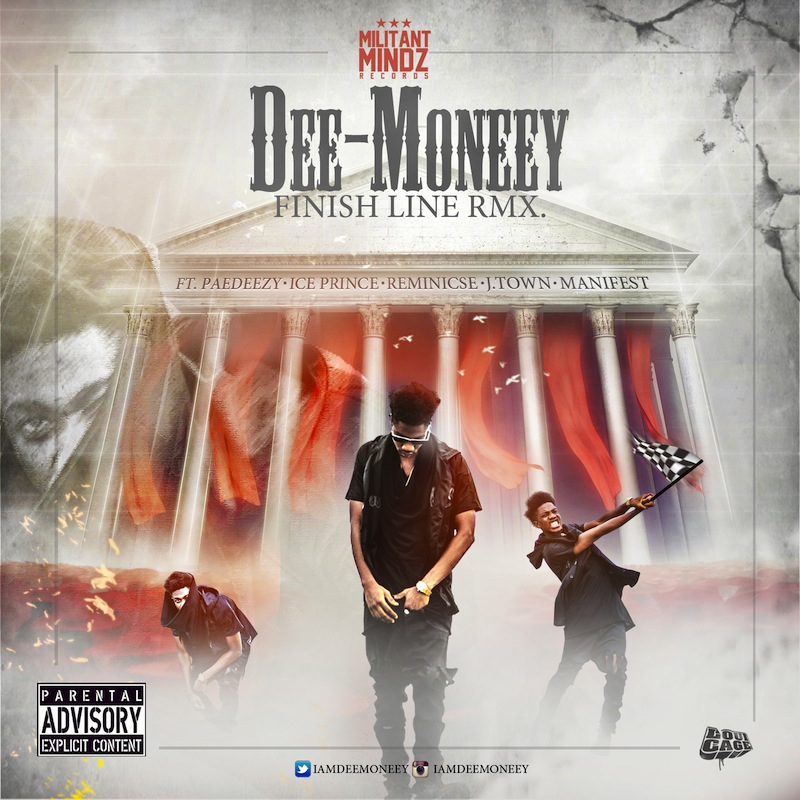 Dee-Money-Finish-Line-Rmx-Art