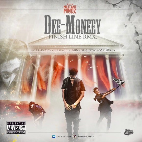 Dee-Money-Finish-Line-Rmx-Art