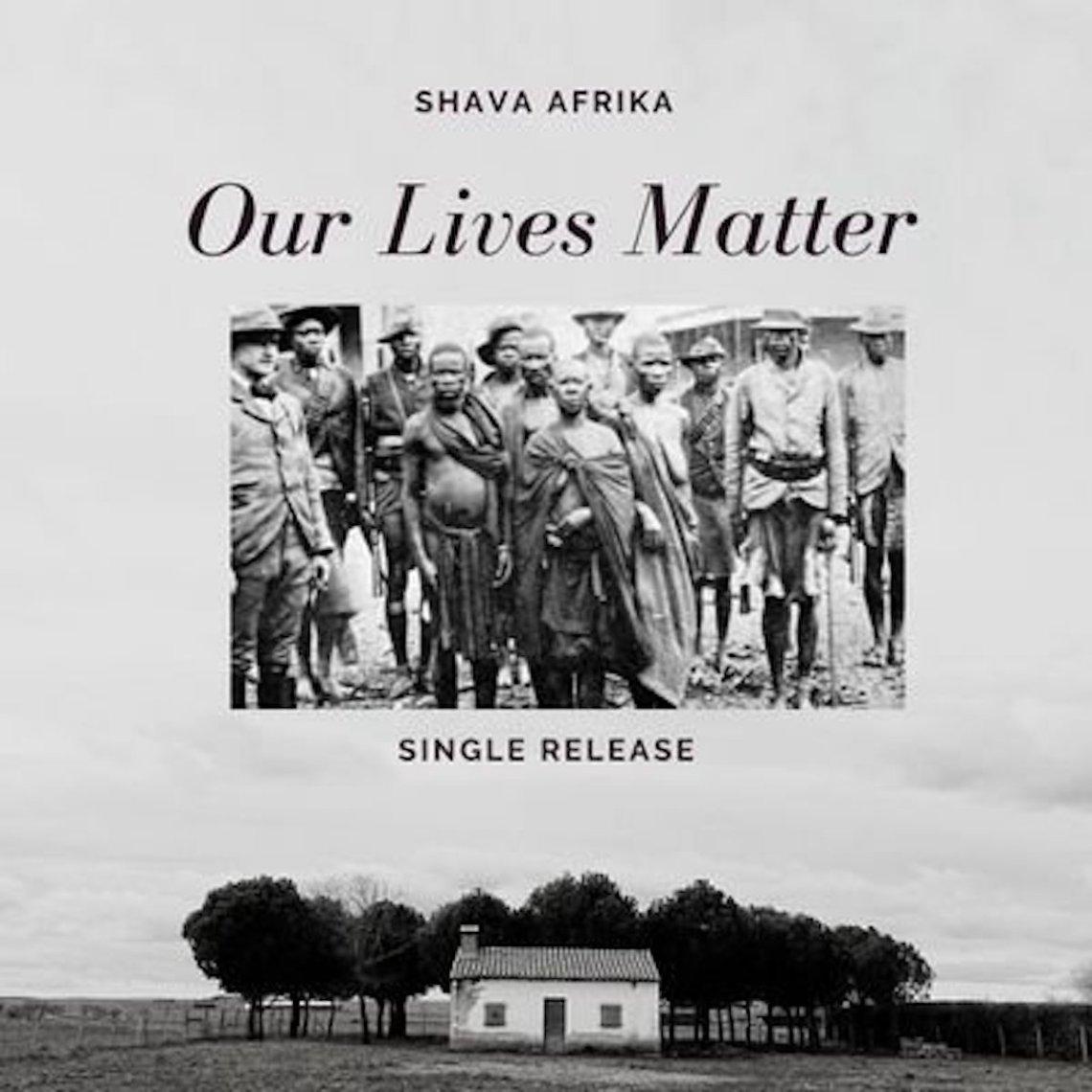 Cover_Our lives matter_ Shava Afrika